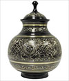 Black Engraved Brass