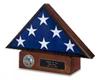 Veterans Flag Case and Pedestal