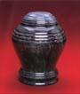 Ebony Bell Jar Urn