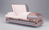 Tapestry Rose Copper Casket