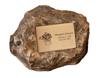 Granite Single Memorial Garden Rock Urn