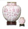 Pink Cloisonne