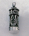 Small Filigree Cylinder