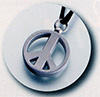 Peace Sign Silver