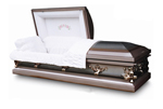 Burial Caskets: Tea Rose
