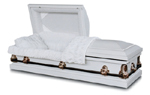 Burial Caskets: Vermont White