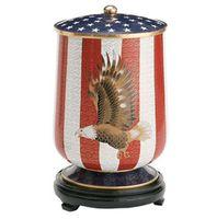 Flag and Eagle Miniature