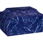 Cultured Marble Flag Blue