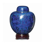 Blue Cloisonne